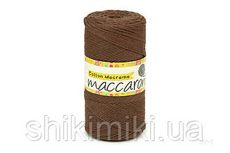 Эко Шнур Cotton Macrame, цвет Махагон
