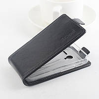 Чехол флип для Alcatel One Touch 4009D чёрный