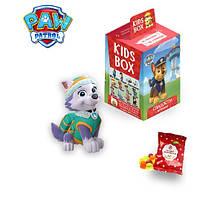 Щенячий Патруль KIDS BOX - колекційна фігурка в коробочці c мармеладом Свитбокс Paw Patrol