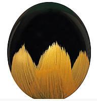 """Воздушные шары Браш золото на черном 12"""" (30см)"""