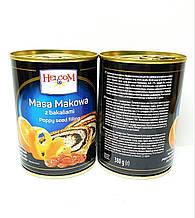 Маковая начинка (масса) Helcom, 380г (Польша), ж/б