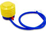 Насос ножной для фитбола FI-5654  синий-желтый, фото 2
