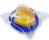 Насос ножной для фитбола FI-5654  синий-желтый, фото 5