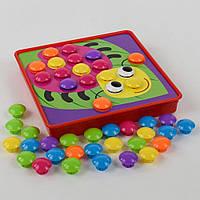 Мозаика для самых маленьких, Мозаика для детей от 3 лет Цветная фантазия