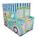 Детская игровая палатка в виде машинки с мороженым, фото 2
