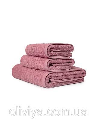 Готельні рушники т. рожевий, фото 2