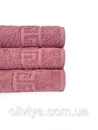 Отельные полотенца т. розовый, фото 2