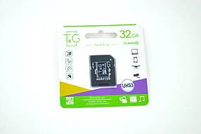 Карта памяти Micro SD 32Gb T&G Class10 c ад.(UHS-3)