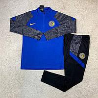 Тренировочный костюм Интер/Inter ( Италия, Серия А ), синий, сезон 2021
