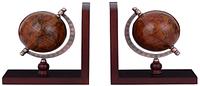 Подставка для книг (букенд) Глобус коричневый Гранд Презент AG093013R