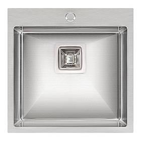 Кухонна мийка Qtap DK5050 Satin 2.7/1.0 мм (QTDK50502710)