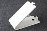 Чехол флип для Alcatel One Touch 7041D POP C7 белый
