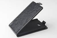 Чехол флип для Alcatel One Touch 7041D POP C7 чёрный