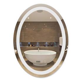 Зеркало Qtap Mideya 600х800 (DC-F805-1) с LED-подсветкой и антизапотеванием QT2078F8051W
