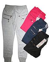 Трикотажные брюки для девочек на 6-16 лет,