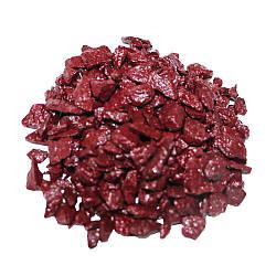 Декоративний щебінь ZRостай бордовий 3 кг S6020