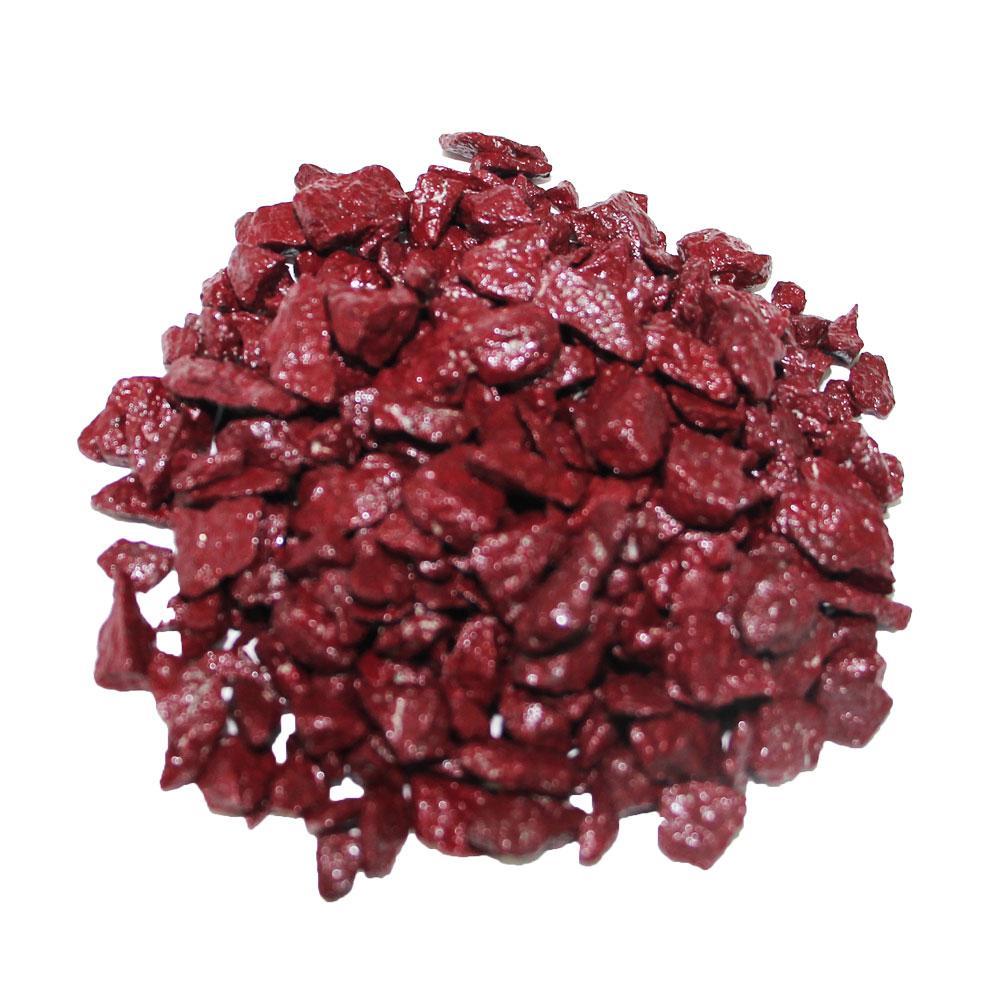 Декоративный щебень ZRостай бордовый 0,5 кг S6004