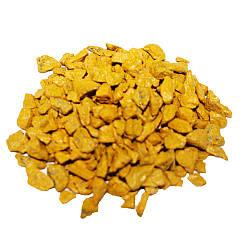Декоративный щебень ZRостай желтый 1 кг S6014