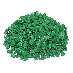 Декоративний щебінь ZRостай зелений 1 кг S6011