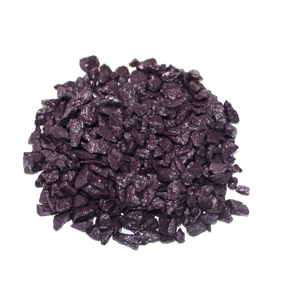 Декоративний щебінь ZRостай фіолетовий 1 кг S6013