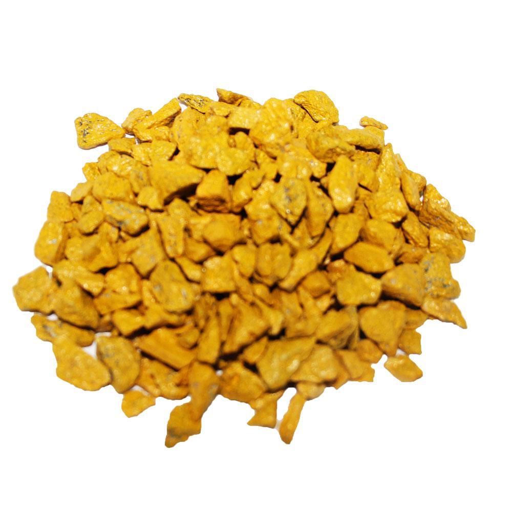 Декоративный щебень ZRостай желтый 20 кг S6030