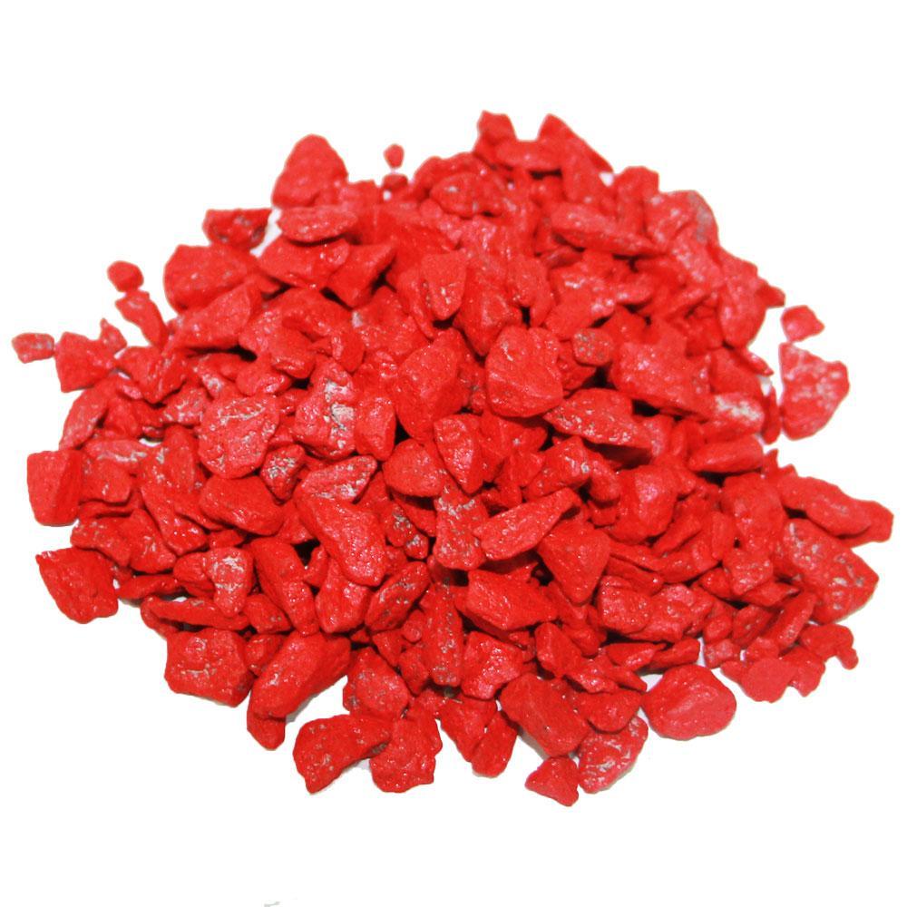 Декоративный щебень ZRостай красный 20 кг S6031