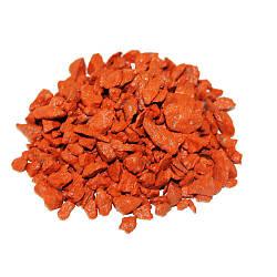 Декоративный щебень ZRостай оранжевый 0,5 кг S6002