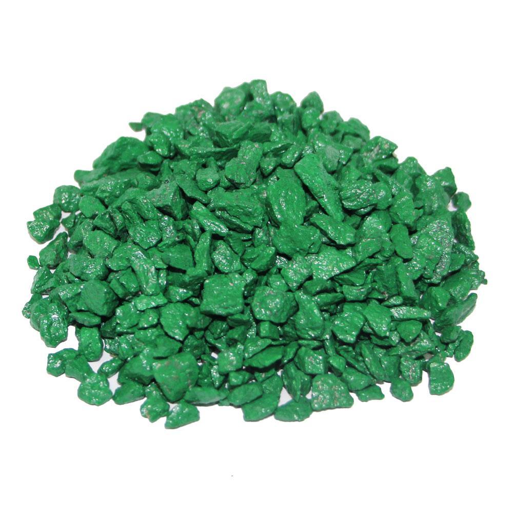 Декоративный щебень ZRостай зеленый 0,5 кг S6003