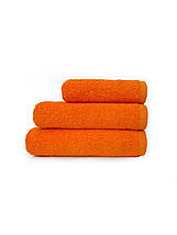 Набір махрових рушників помаранчевий, фото 2
