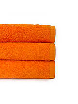 Набір махрових рушників помаранчевий, фото 3