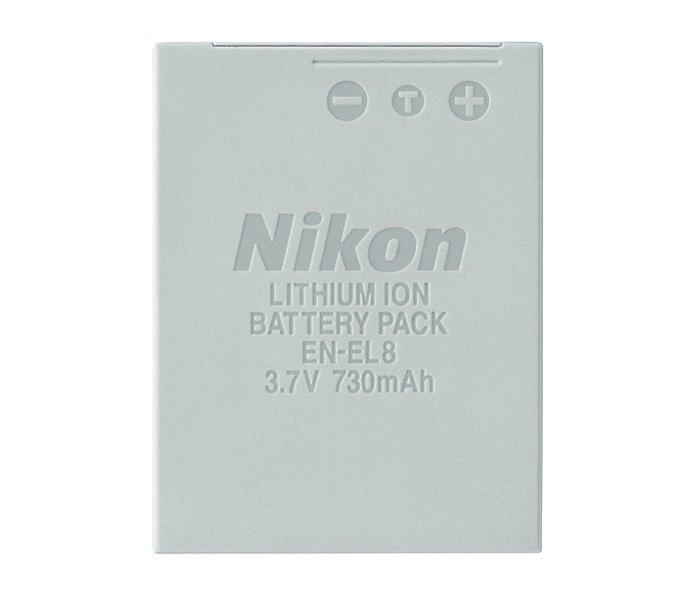 АККУМУЛЯТОРNIKON EN-EL8 3.7V 730mAh Li-Ion