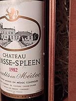 Вино 1982 року Chateau Chasse Spleen Moulis en Medoc Франція, фото 3