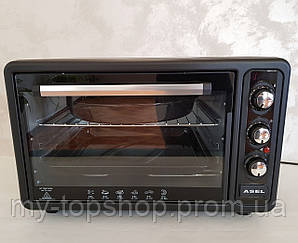 Духовка электрическая печь ASEL AF-40-23 Black 40L 1300W