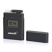 Алкотестер для водителей Greenwon AT838 алкометр с экраном + 5 мундштуков