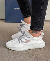 Распродажа Женские Кроссовки Adidas Yeezy Boost 350 v2 (37 размер) white