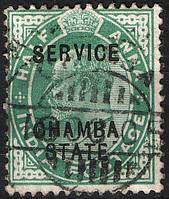 Британская Индия 1903 Chamba