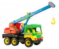 Іграшка Middle truck кран 39226