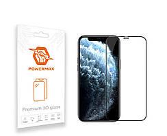 Захисне скло Powermax 3D Premium Apple iPhone 12 Mini Black (PWRMX3DIPH12MB)