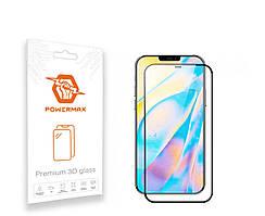Захисне скло Powermax 3D Premium Apple iPhone 12 Pro Max Black (PWRMX3DIPH12PB)