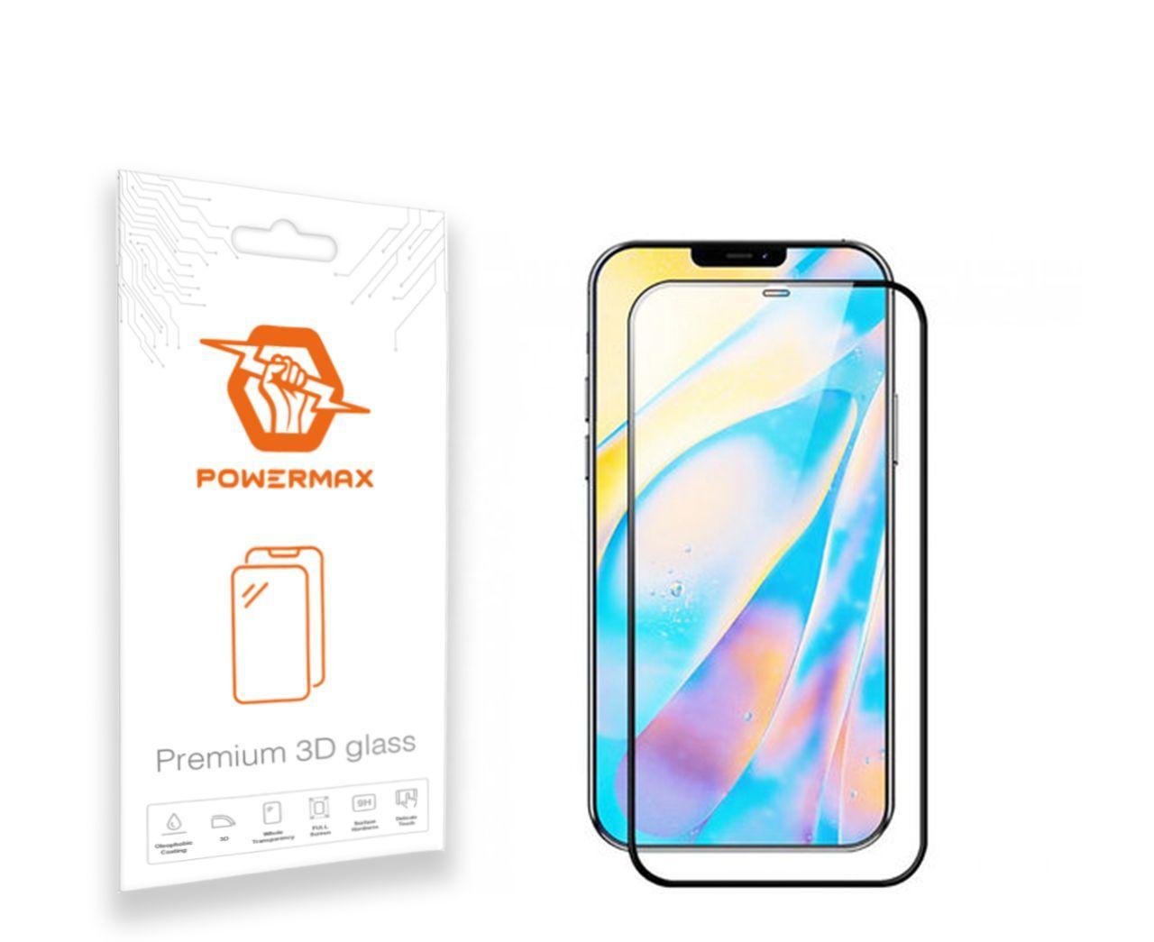 Защитное стекло Powermax 3D Premium Apple iPhone 12 Pro Max Black (PWRMX3DIPH12PB)