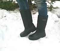 Женские сапоги пена дутики утепленные 38  р-р, фото 1