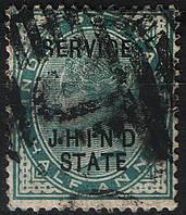 Британская Индия 1902 Jhind