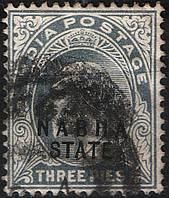 Британская Индия 1903 Nabha