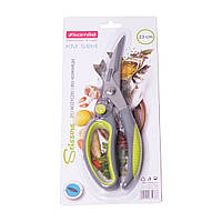 Ножницы Kamille кухонные 23см из нержавеющей стали с пластиковыми ручками KM-5184