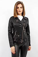 Женская куртка косуха черная Hero
