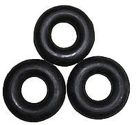 Еспандер бублик ОБ-002 середній з чорної гуми
