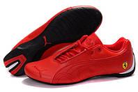 Мужские кроссовки Puma Ferrari Low (пума феррари, оригинал) красные низкие