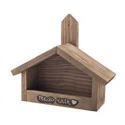 Кормушка для птиц Decoline деревянная С любовью D9015