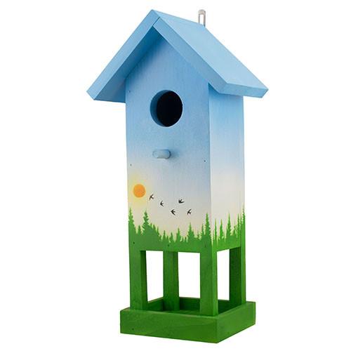 """Шпаківня для птахів дерев'яна Decoline """"Вежа"""" D9070-2"""