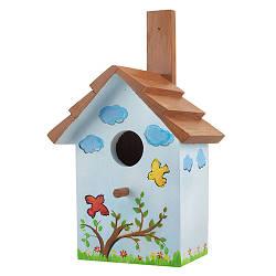 Скворечник для птиц деревянный Decoline Черепица D9072-2